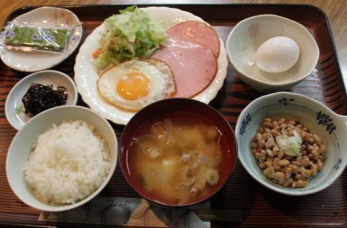 ビジネスホテル大泉の朝食